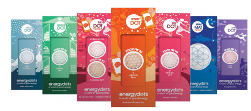 energyDOTs to protect from electromagnetic Radiation